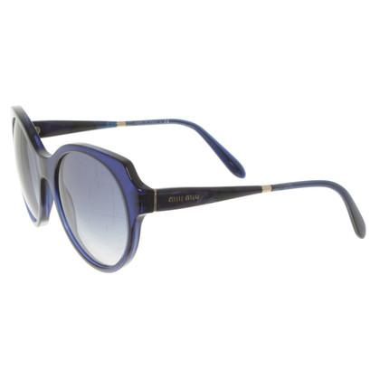 Miu Miu Sonnenbrille in Blau