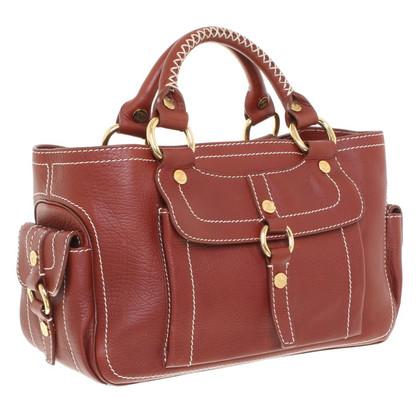 Céline Handbag in brown / red