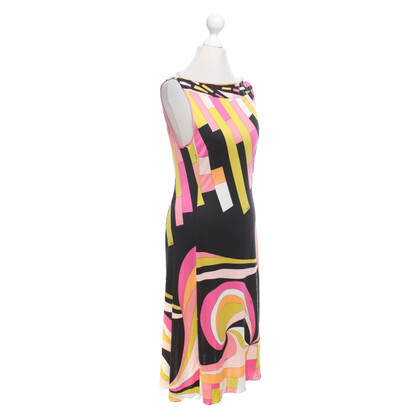 Emilio Pucci Silk dress in multicolor