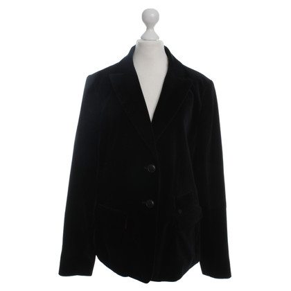 Barbour Blazer in velluto nero