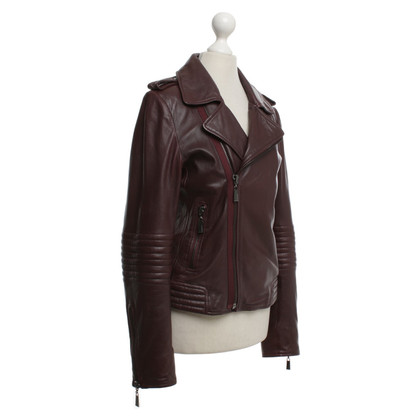 Other Designer Max & Moi - Leather jacket in Bordeaux