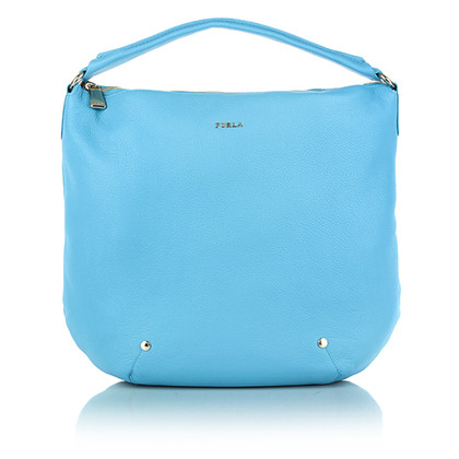 Furla Alissa M Hobo Atlantic in light blue