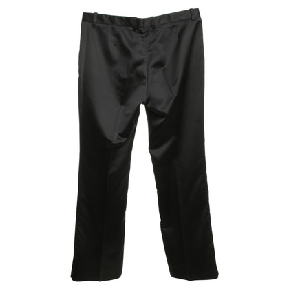 Ferre Satin-trousers in black