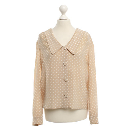 Prada Blouse with dot pattern