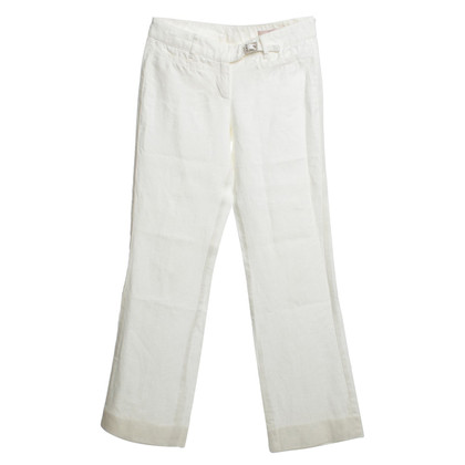 Red Valentino Linnen broek in wit