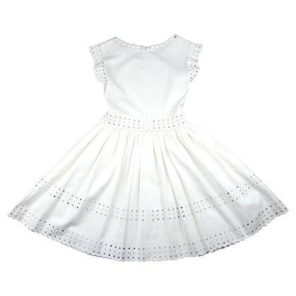 Red Valentino White cotton dress