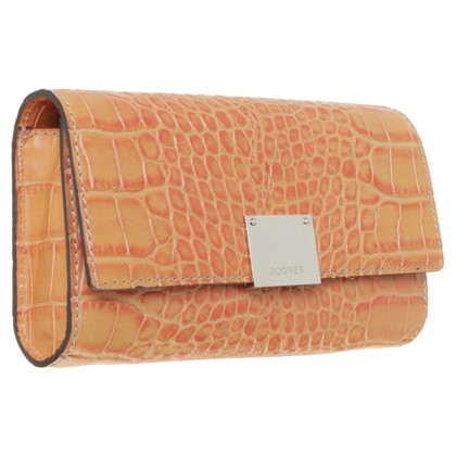 Bogner Clutch in Orange