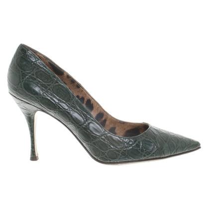 Dolce & Gabbana Pumps aus Alligatorenleder