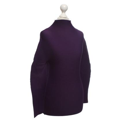 Issey Miyake Blouse in purple
