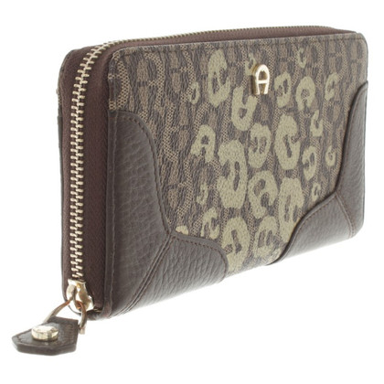 "Aigner Wallet ""Fango"" in brown"