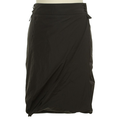 Pauw Wrap skirt in black