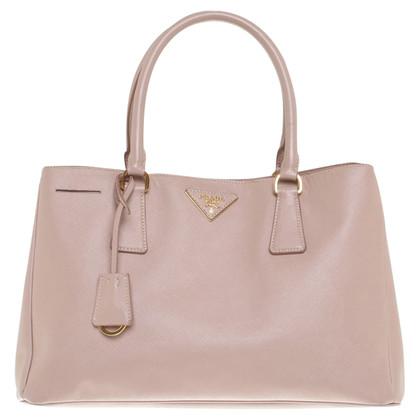Prada Lederhandtasche in Altrosa