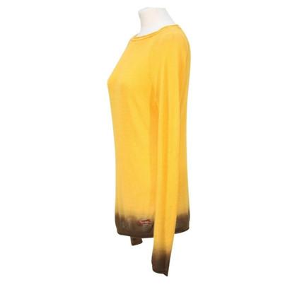 Roberto Cavalli Truien in geel