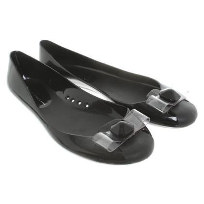 Pollini Ballerina's in zwart