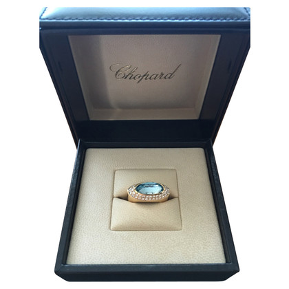 Chopard Yellow gold ring with stone