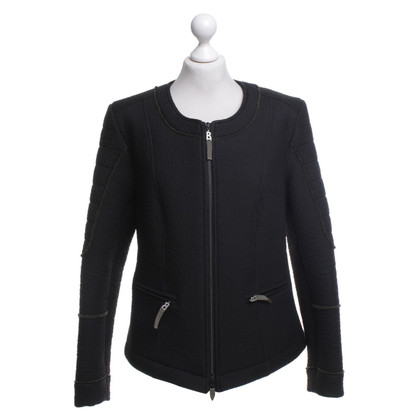 Bogner biker jacket in black