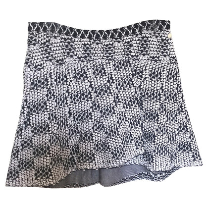 Chanel Knitted skirt in blue / white