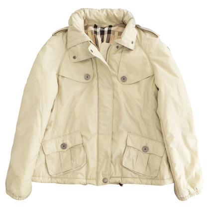 Burberry Jacke in Hellbeige