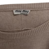 Miu Miu Sweater with tie belt