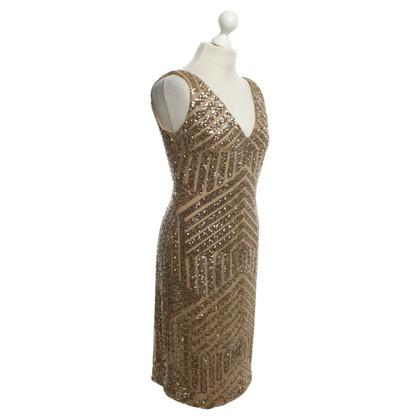 Ralph Lauren Sequin dress in gold color