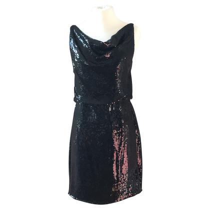 Robert Rodriguez Black dress with sequins