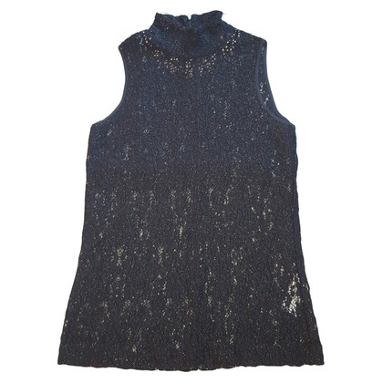 Blumarine BLUGIRL : wool lace sparkly top
