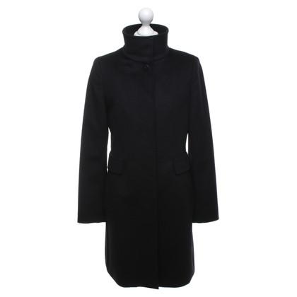 Max Mara Wool coat in black