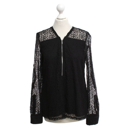 Calvin Klein Lace blouse in black