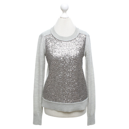 Diane von Furstenberg Sweater with sequin trim