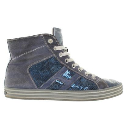 Hogan Sneakers in Blau