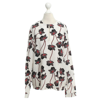 Schumacher Silk blouse with floral print