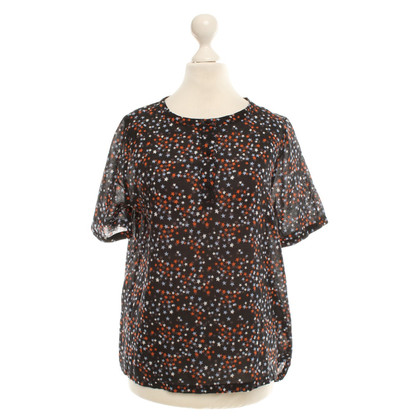 Rika top with stars pattern