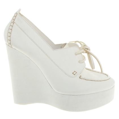 Chloé Wedges in het wit