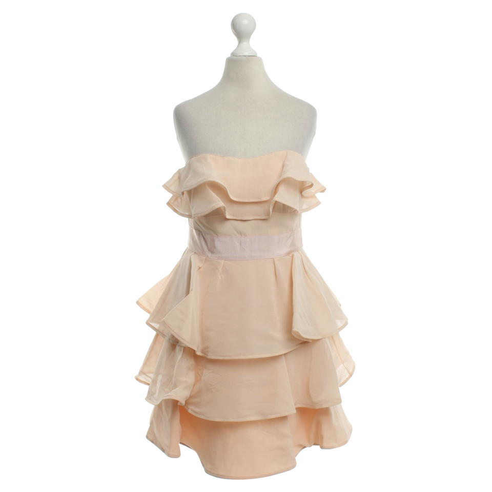 Ted Baker Cocktail dress in Nude - Buy Second hand Ted Baker ...