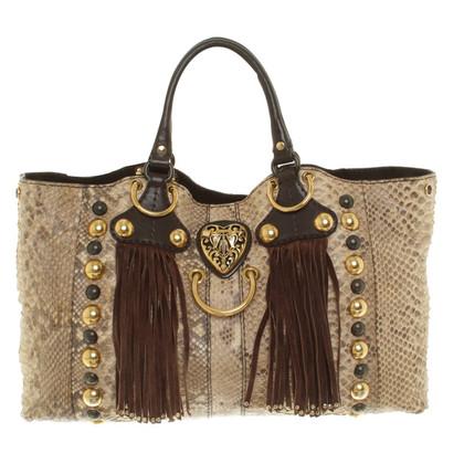 """Gucci """"Babushka Bag"""" made of python leather"""