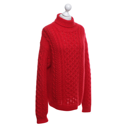 Christopher Kane Sweater with plait knit pattern
