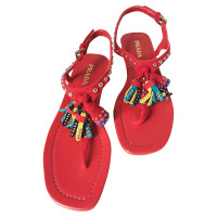 Prada Sandals with tassels