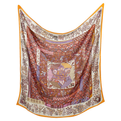 Hermès Scarf with colorful print