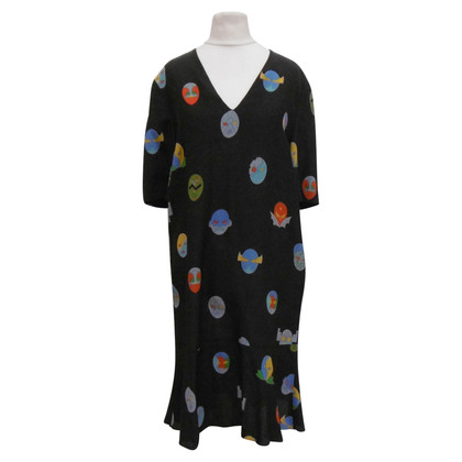 Stella McCartney Silk dress with pattern