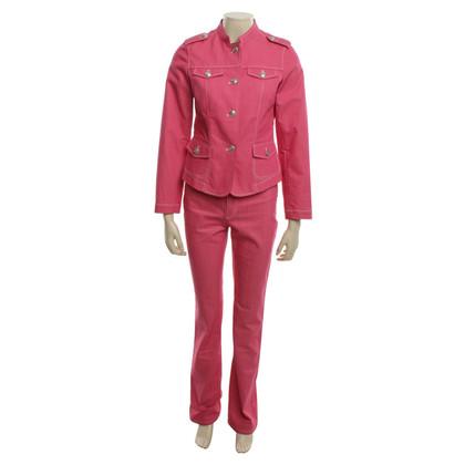 Van Laack Jeans suit in pink