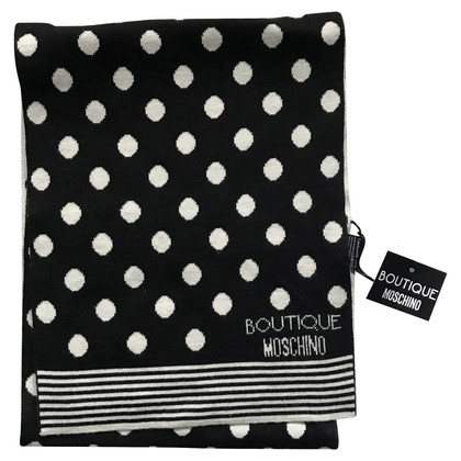Moschino Scarf in black and white
