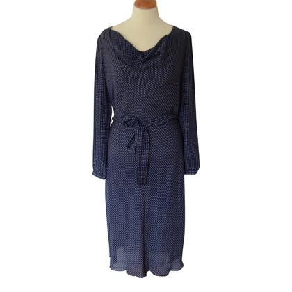Bruuns Bazaar Robe en soie avec ceinture
