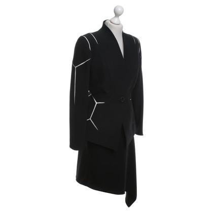 Mugler Costume con gonna asimmetrica