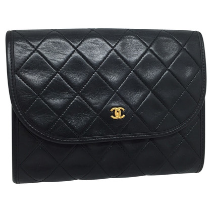 Chanel Leder Clutch
