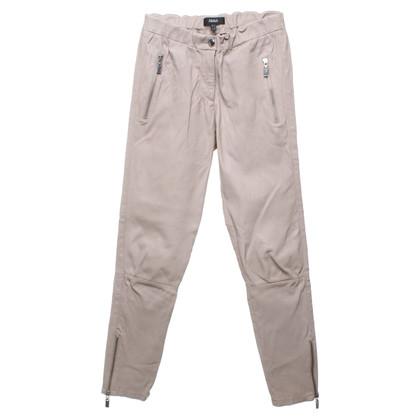 Arma Pantaloni di pelle in beige