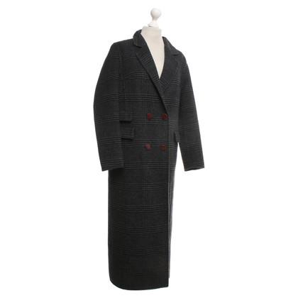 Ganni Coat in donkergrijs