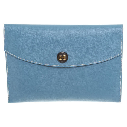 Hermès Clutch in Blau