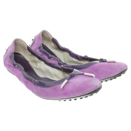 Tod's Ballerinas in violet