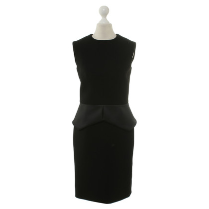 Balenciaga Black dress with peplum