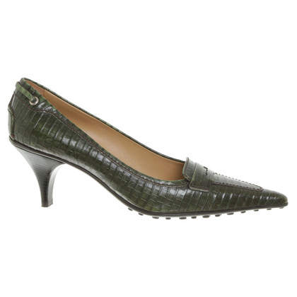 Car Shoe pumps in verde